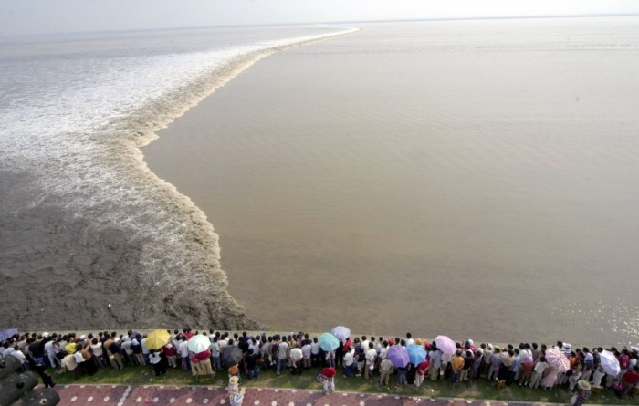 Qiantang River, en China