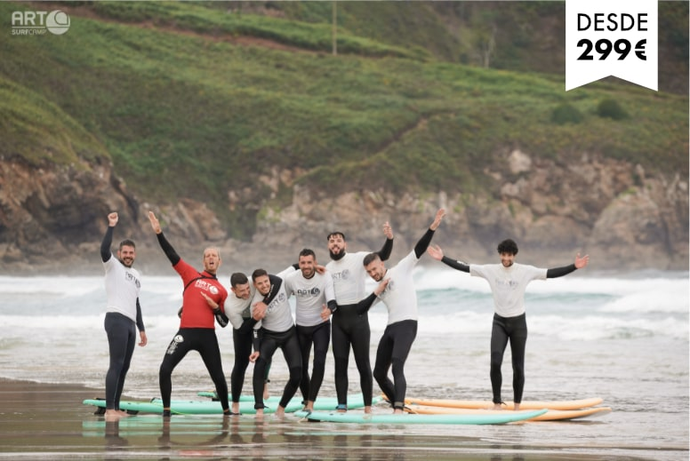 Surf camps adultos
