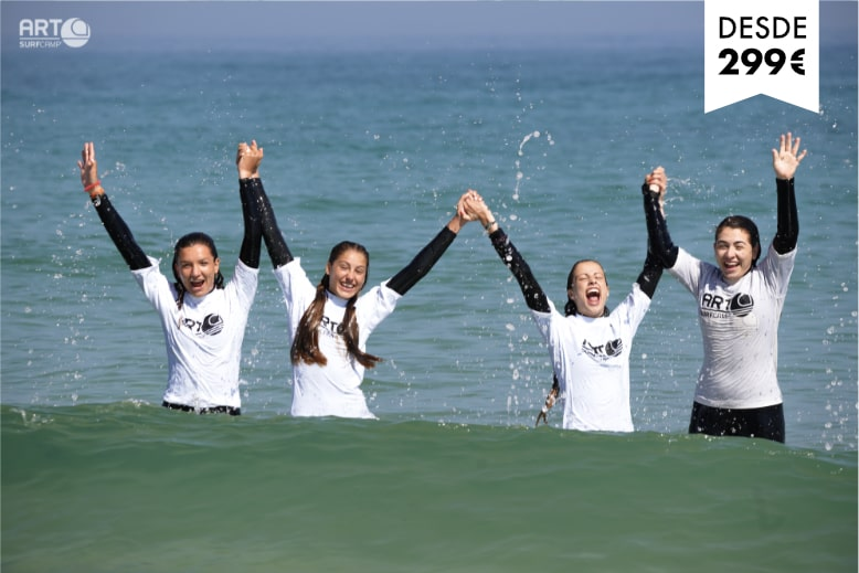 Surf camps menores