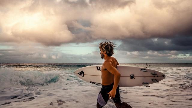Aritz Aramburu Hace un Par De Meses En Hawaii