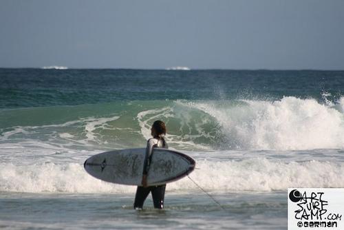 Camp 8: SurfCamp Adultos Jóvenes En La Playa De Razo – Septiembre 2009