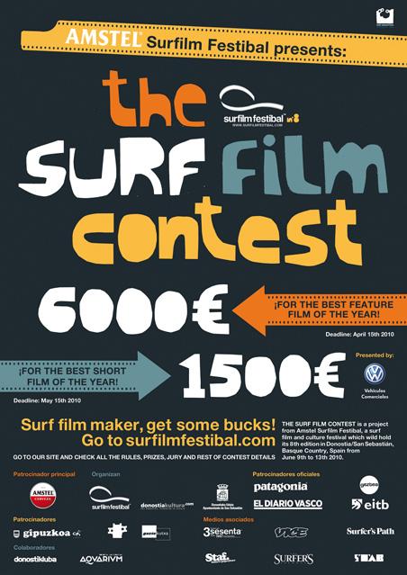 Amstel Surfilm Festibal 8 The Surf Film Contest