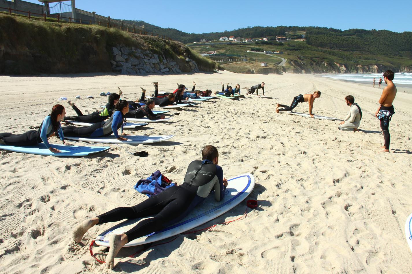 Art Surf Camp 08. Aprende Surf y Disfruta!!