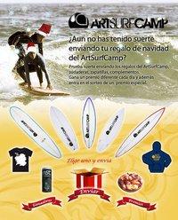 Aplicación Facebook Artsurfcamp Regalos Virtuales De Surf