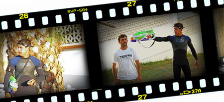 Cortos de surf con Mario Casas