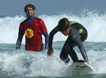 Gony Zubizarreta Master Class En Campus De Surf «Chupa Chups-Artsurfcamp»