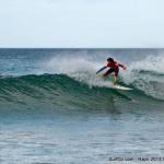 Maniobras de surf