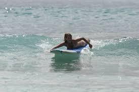 Remando surf