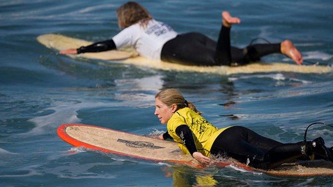 Aprender surf: Técnica de remada