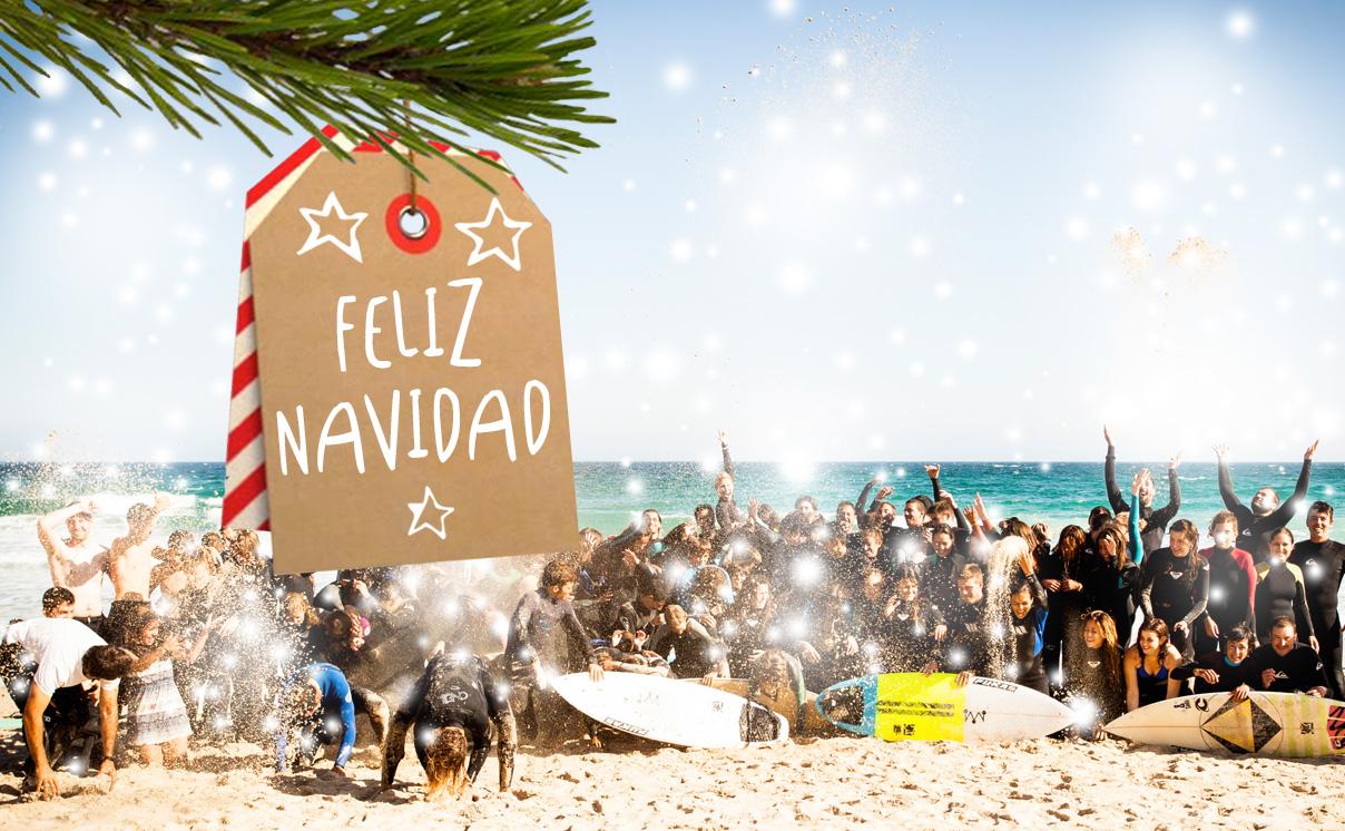 Artsurfcamp Os Desea Felices Fiestas!!!