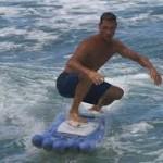 Surf tabla reciclaje