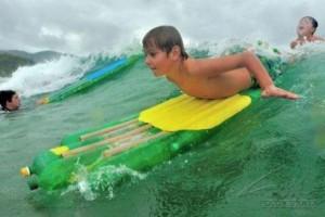 Surf botellas recicladas