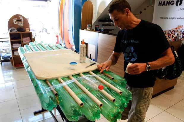 Tabla surf botellas PET
