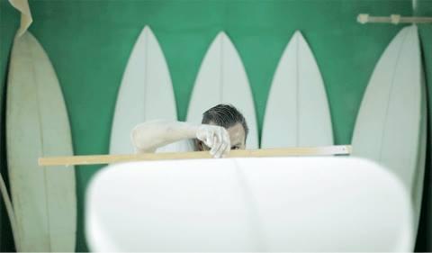 Tabla de surf olas pequeñas