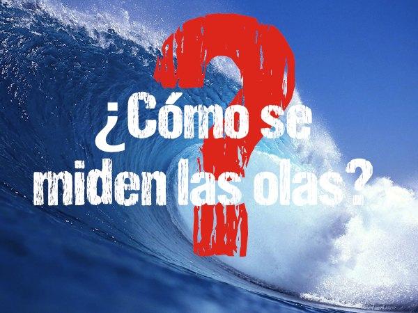 Surf: como se miden las olas
