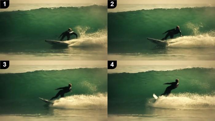 Bottom Turn surf 2