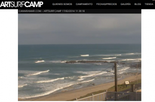 Webcam Playa de Razo Artsurfcamp
