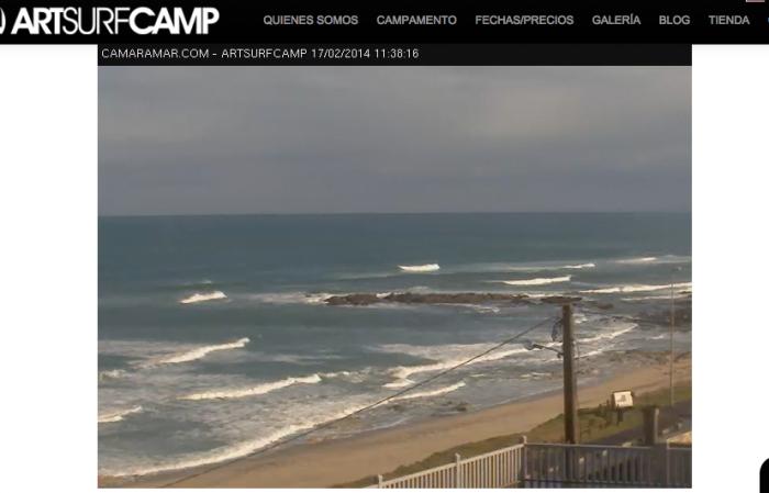 Webcam Playa de Razo Artsurfcamp