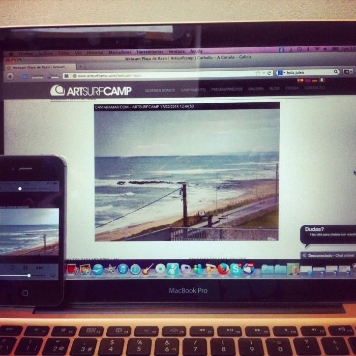 Webcam Artsurfcamp