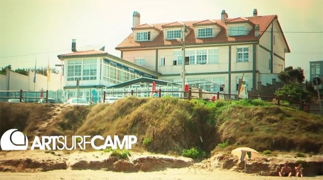 Artsurfcamp, Playa de Razo