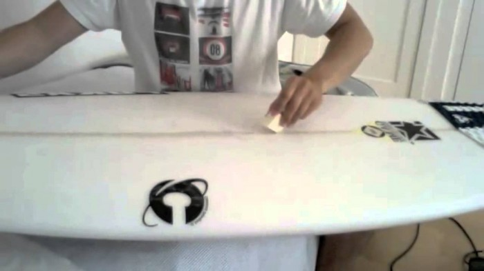 tutorial para aprender a surfear: Parafina tablas de surf