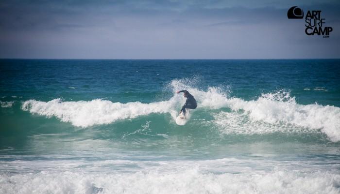 Aprender surf en Coruña Artsurfcamp