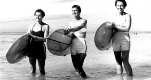 Mujeres surfistas