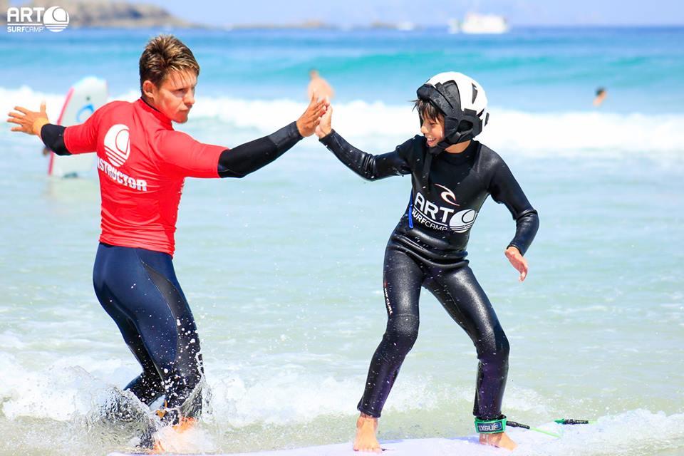 9 Razones Por Las Que ArtSurfCamp Es El Campamento De Surf Ideal Para Tus Hijos