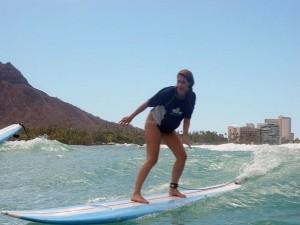 surf olas pequeñas