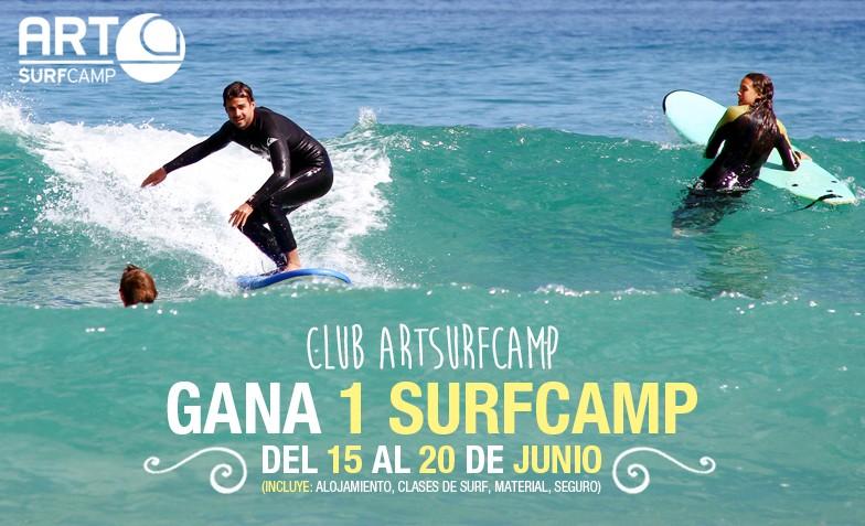Gana Un Surfcamp Gratis Este Lunes 19 De Mayo