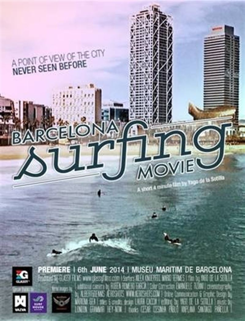 Patrocinamos El Barcelona Surf Movie!