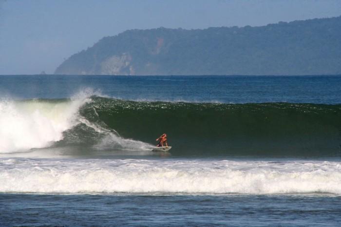 Pavones, en Costa Rica
