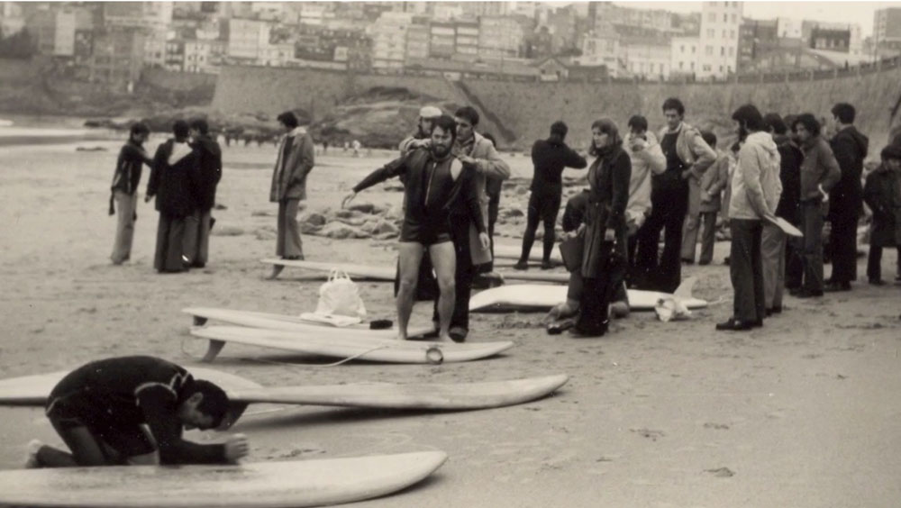 Los Orígenes Del Surf En Galicia