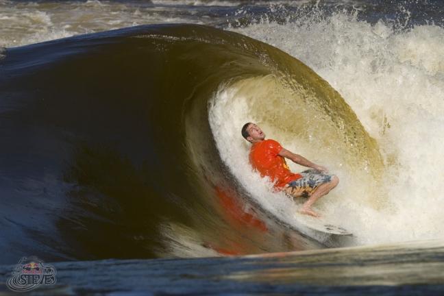 Surf en el Zambeze