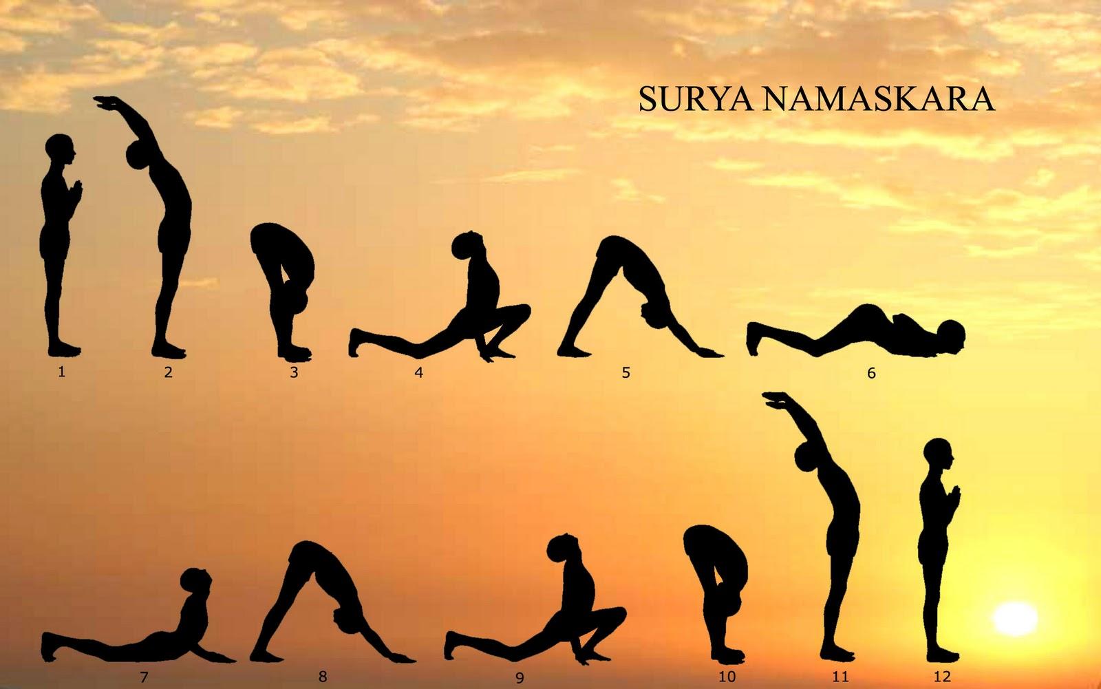 Resultat d'imatges de saludo al sol yoga