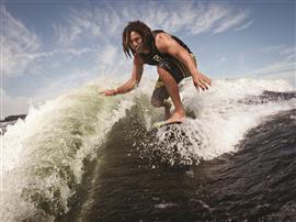 Surf lancha