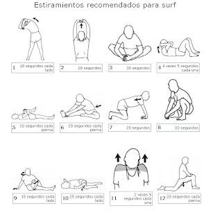 20 tipos de ejercicios de estiramiento