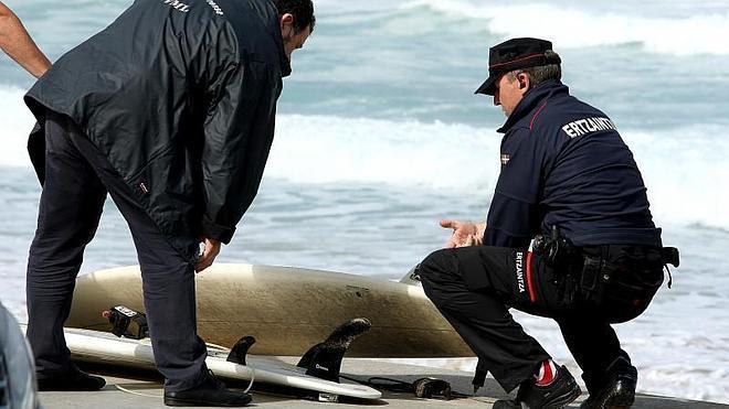 Zarautz surfistas