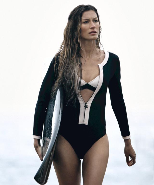La Top Model Gisele Bündchen Surfea Para CHANEL N°5