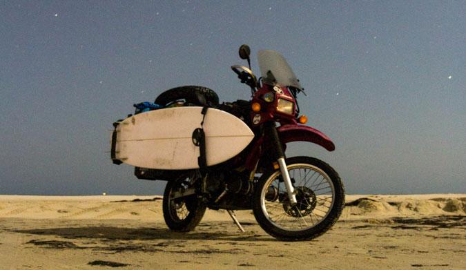 Moto y surf