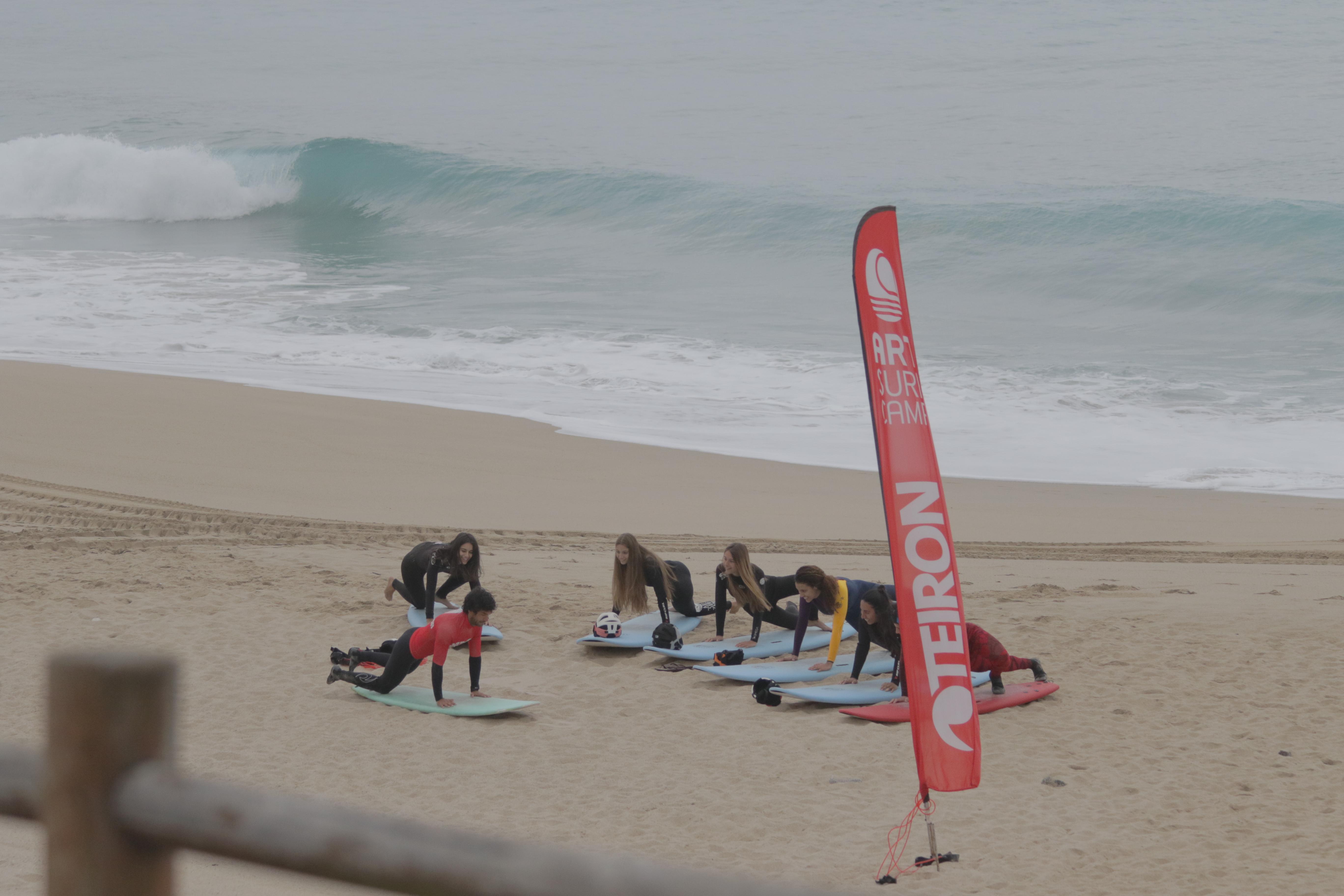 Cursos De Surf De Invierno En Artsurfcamp