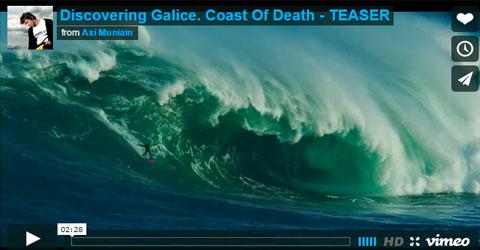 Artsurfcamp y Axi Muniain Descubriendo Olas Gigantes En A Costa Da Morte