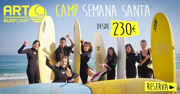 Semana Santa 2015 Surf camp