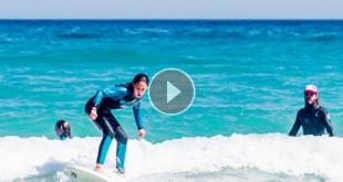 Surf ponerse en pie
