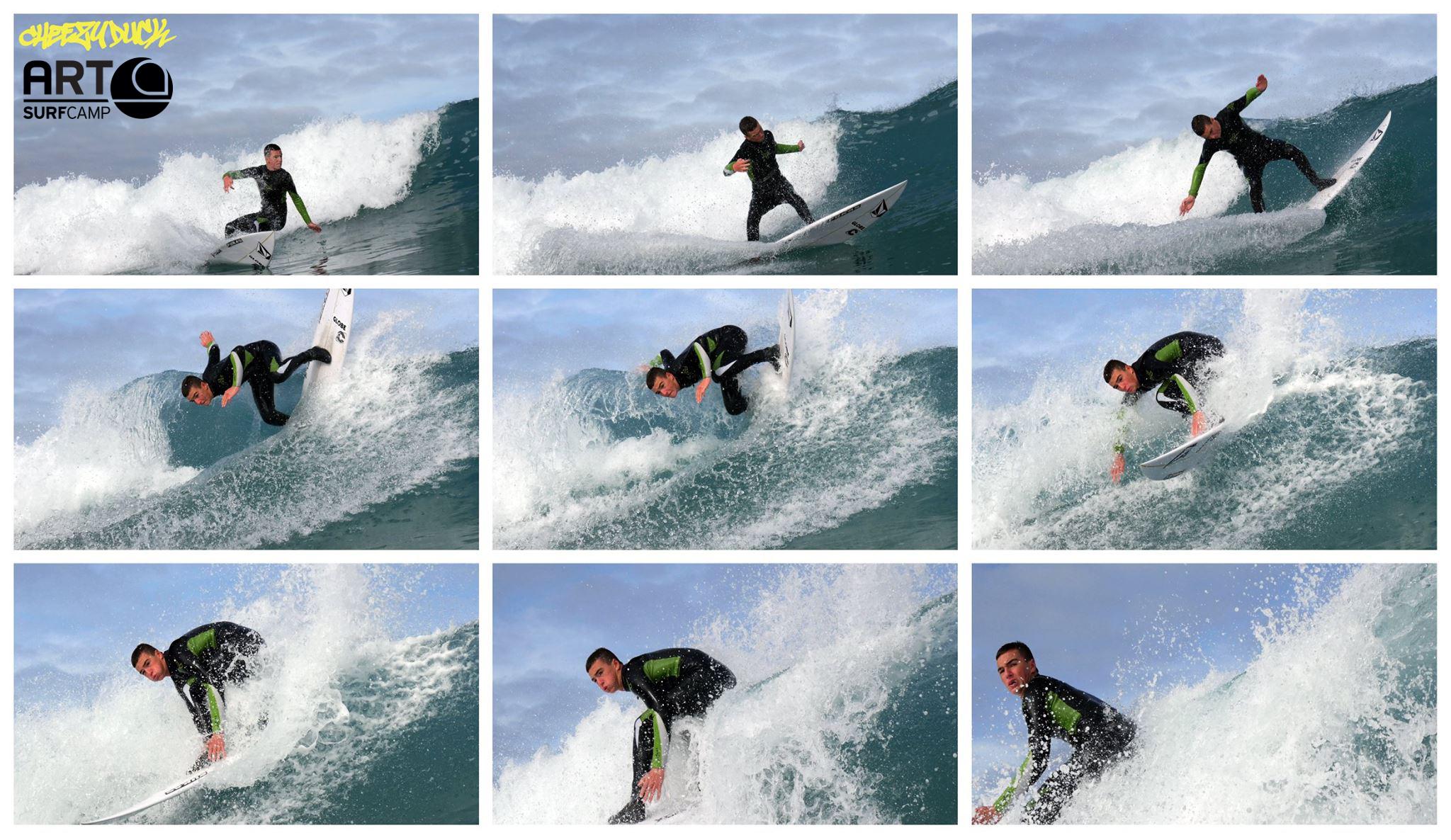 Surfistas Profesionales Eligen Artsurfcamp Para Entrenar Su Surfing