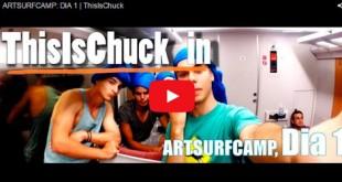 Chuck en Artsurfcamp - episodio 1
