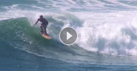 Surfeando Con Una Tabla Alaia