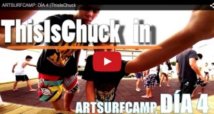 This is Chuck en Artsurfcamp