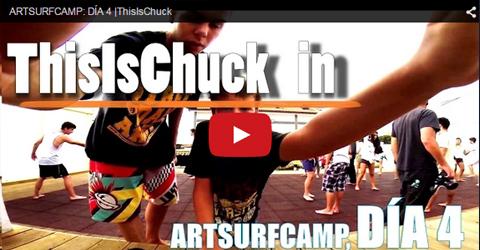 This is Chuck en Artsurfcamp