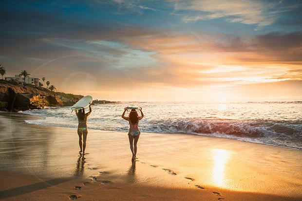 Los beneficios del surf para las mujeres